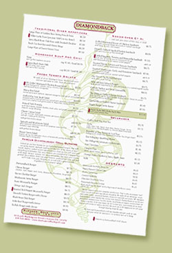The Diamondback Menu